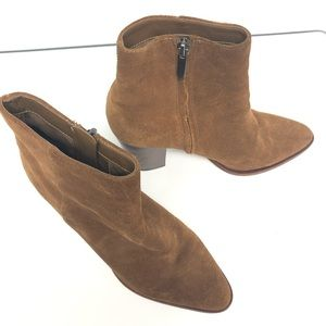 Shoes Sam Edelman 7 1/2 brown heels boots